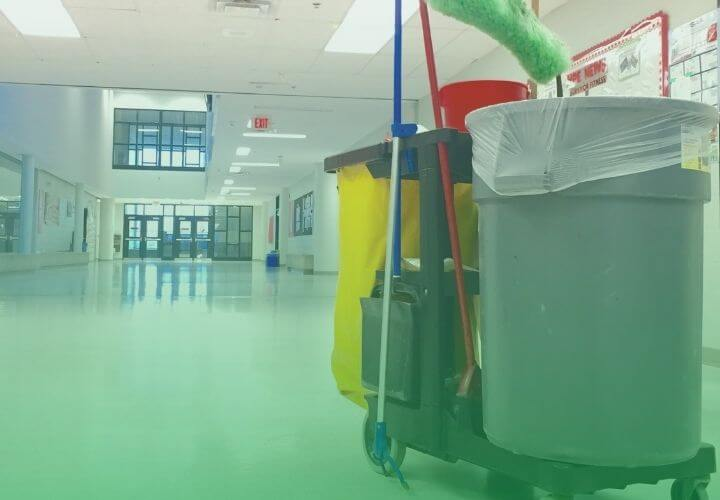 school cleaning md